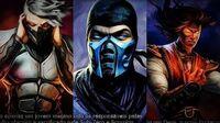 Mortal Kombat 9 (PS3) - Compilação dos Finais do modo Torneio LEGENDADO em PORTUGUÊS