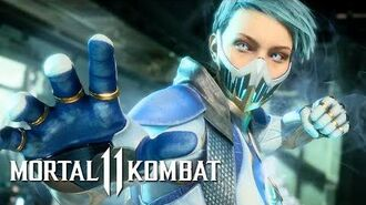 Mortal Kombat 11 - Official Frost Gameplay Reveal Trailer