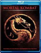 Mortal Kombat on Blu-Ray - Front