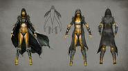 MKX D'vorah Concept Art 2
