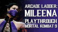 Mortal Kombat 9 (PS3) - Arcade Ladder Mileena Playthrough Gameplay
