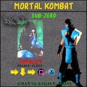 MK1-SubZero FATALITY