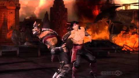 Mortal Kombat Liu Kang Story Trailer