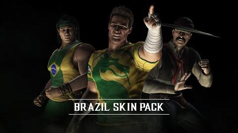 Mortal Kombat X Brazilian Skin Pack