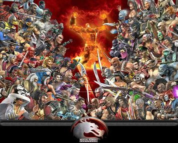 Personagens de Mortal Kombat Armageddon