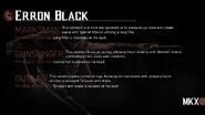 Erron Black variação