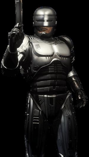 Robocop MK11 render