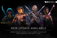 MKX mobile 1.13 roster