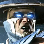 Raiden Injustice 2 oponent face