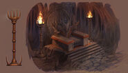 Goro s throne detail by atomhawk-d56thzs