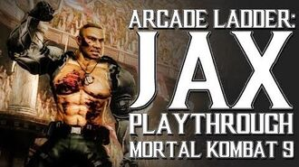Mortal Kombat 9 (PS3) - Arcade Ladder Jax Playthrough Gameplay