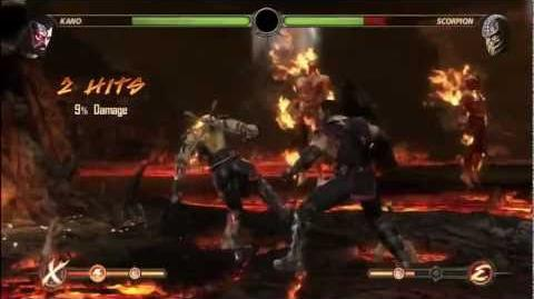 Mortal Kombat 9 Inferno Scorpion