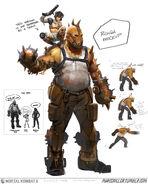 Mortal Kombat X MKX Concept Art MN Master Blaster speed1 02