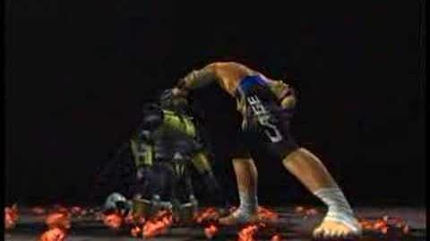 Mortal Kombat Johnny Cage Trading Card