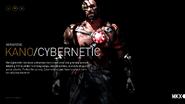 MKX Kano Cybernetic
