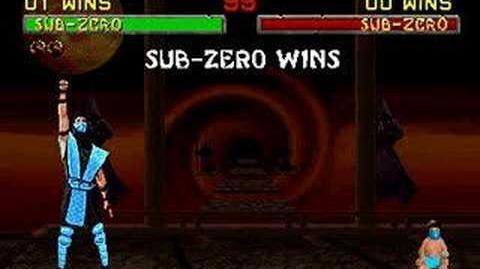 Mortal Kombat II - Babality - Sub-Zero