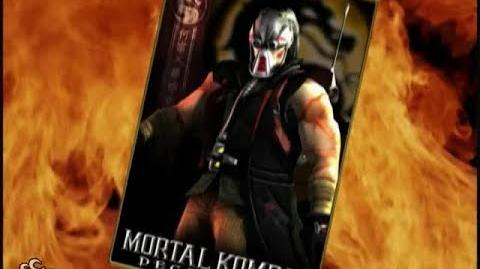 HQ Mortal Kombat Deception - Kabal Trading Card