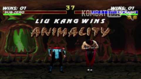 MK III Liu Kang Animality