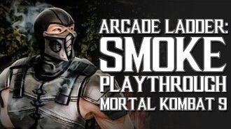 Mortal Kombat 9 (PS3) - Arcade Ladder Smoke Playthrough Gameplay