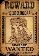 Wantedposterskarlet