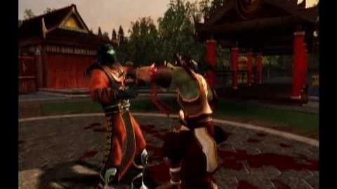 Mortal Kombat Dairou Trading Card-0