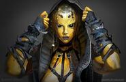 Mortal Kombat X MKX Concept Art MN Dvorah 05