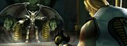 Mortal Kombat Deception Loading Screen Image Onaga Dragon King and Kobra