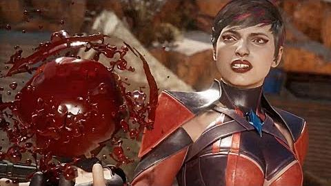 MORTAL KOMBAT 11 Gameplay Demo Skarlet Vs Sonya (2019) PS4 Xbox One PC
