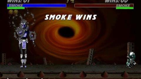 Mortal Kombat 3 - Babality - Smoke