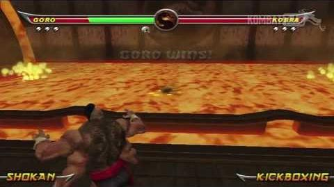 The Armory Death Trap Mortal Kombat Armageddon (Metal Fundido)