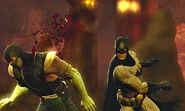 Batman v.s subzero-DC Univer v.s MK