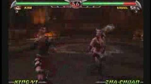 Mortal Kombat Kira Trading Card