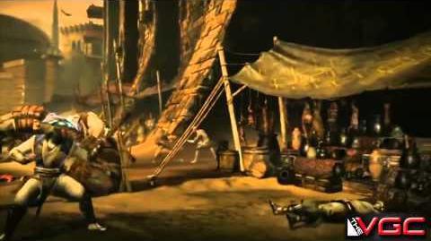 Mortal Kombat X - Raiden Gameplay Trailer HD