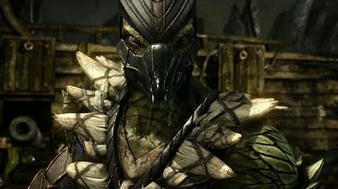 Mortal Kombat X- Reptile Official Trailer