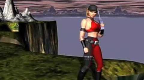 Mortal Kombat 4 Sonya's Ending