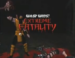 Extreme fatality