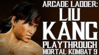Mortal Kombat 9 (PS3) - Arcade Ladder Liu Kang Playthrough Gameplay