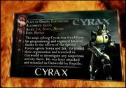 Cyraxkard