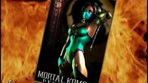 HQ Mortal Kombat Deception - Jade Trading Card