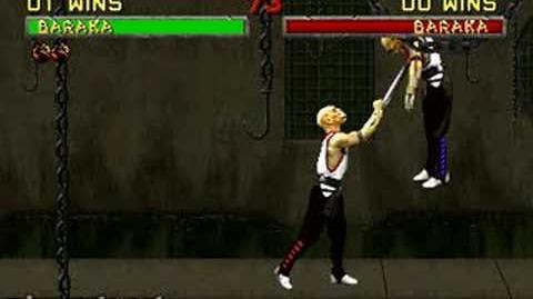 Mortal Kombat II - Fatality 1 - Baraka