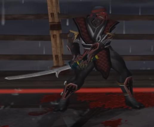 Ninja sword chameleon
