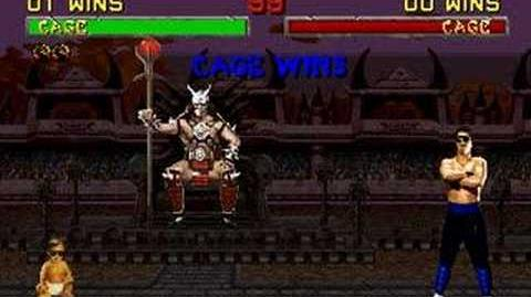 Babality: Johnny Cage