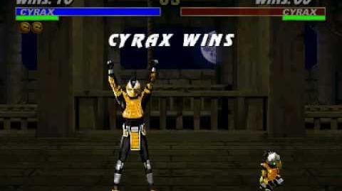 Babality: Cyrax