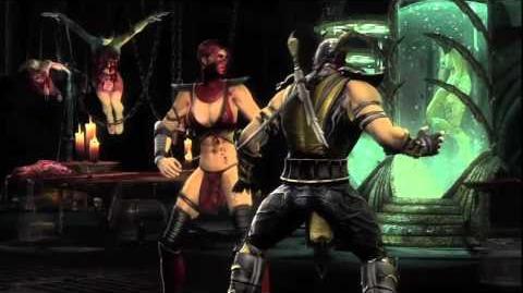Mortal Kombat 9 'Skarlet Vignette' TRUE-HD QUALITY