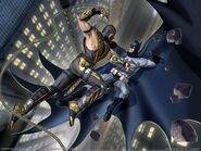 Batman vs scorpion!!