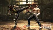 MK9 Scorpion vs Johnny Cage