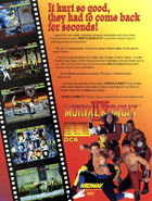Mortal Kombat II Flyer Back