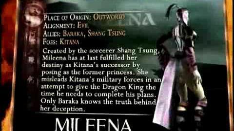 Mortal Kombat Mileena Trading Card