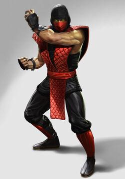 Retro ninja ermac finalartwork
