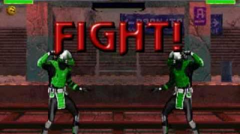 Mortal kombat project acid (acido) que seria cyber reptile